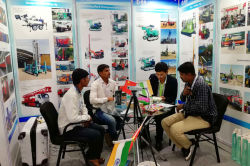Hanfa Group participated Bauma CONEXPO INDIA 2018 In India On Dec. 11th to 14th 2018.