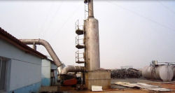 10Ton oil disitllaiton tower for waste engine oil refinery