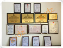 GuangYuan Induction Heating Equipment Certificate