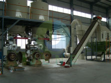 China mainland customer animal feed production line