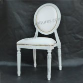 White Louis Wedding Chair YC-D04-09
