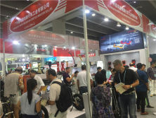 Our booth in Canton Fair