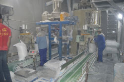 Baking soda production line