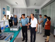 President Dr. Liu Changxin of PRIAC visited Zibo Qianyan Medical