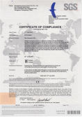 CE Certificate of Gas Generator Set