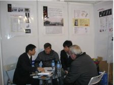 Uruguay customers visit our CCBN Booth