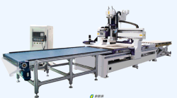 automatic up-down material machine center