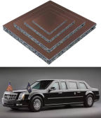 Aluminum foam use for president car of U.S.a