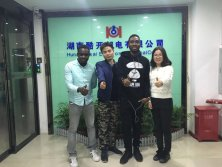 Customer Visit - Belami and Jeff from Ghana