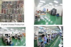 Crystal stones production