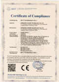 CE Certificate of Power Supply
