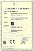 CE ROHS Certificate moving head
