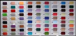 Chffion Swatch Color Chart