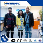 Algeria Customers Visited Our Office for Discussing of XCMG ZL50G Wheel loader