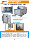 Gas Fired Powder Curing Oven