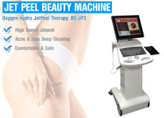 Oxygen Water Jet Peel Skin Care Machines For Removal Fine Lines / Acne / Scar