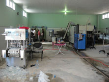 10000BPH bottled water line and 6000CPH cup water filling machine in Libya