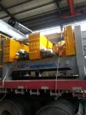 Horizontal type wall panel machine shipped to Vietnam
