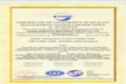 Factory Quality Management System Certification