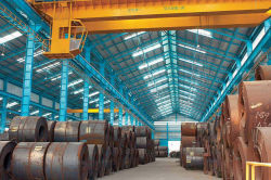 Steel coil warehouse