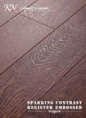 Embossed-in-Register(EIR) HDF Laminated Flooring