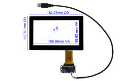 "7"" Multi Touch Screen CT-C8050"