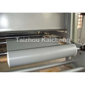 Producing PTFE coated fiberglass fabrics