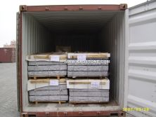 Loading Container for Stone Palisades
