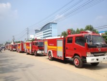 300 units fire truck exported to Mymanar