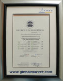 Globalmarket Certificate of Registration