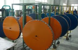 Laser saw blade export to South Afica market