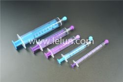 Oral/enteral syringe