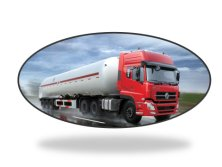 Dongfeng 50 cbm fuel tanker truck