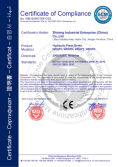 CE CERTIFICATION FOR PRESS BRAKE
