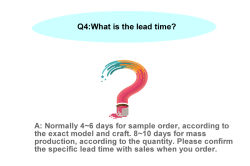 What is the lead time?