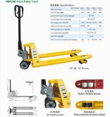 YELLOW HYDRAULIC PALLET TRUCK