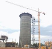 Model 6015 Tower Cranes Project in Kenya