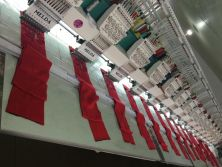 scarf embroidery machine
