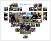 Great moments in PTC ASIA 2014