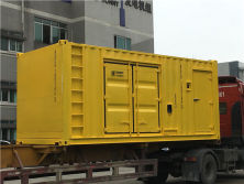 Honny-Googol Series Container Type Generator Set exported to Russia