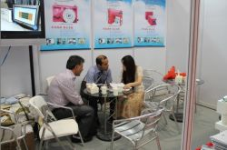 We talked with my customer at China plas.fair