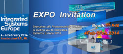 MRLED Will Be Present At Integrated Systems Europe 2014