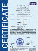 CE certificate of LDF series led street light