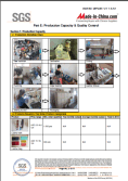 SGS report of auditing factory facilities 5