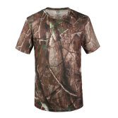 16 Colors Camo Round-Neck Short Sleeve Climbing Outdoor Sports T-Shirts