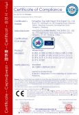 CE certification of wheel stop