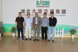 Indian Client Having a Field Visit to Wuhan Dachu Group
