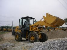 customer testing the loader