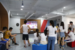 Watch basketball world cup together, support our customers