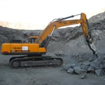 SANY large excavators used in mining projects around the world